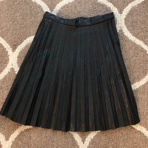 J. Crew faux leather skirt. Like new!
